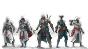 Assassin creed all characters