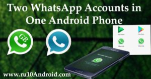 dual whatsApp accounts