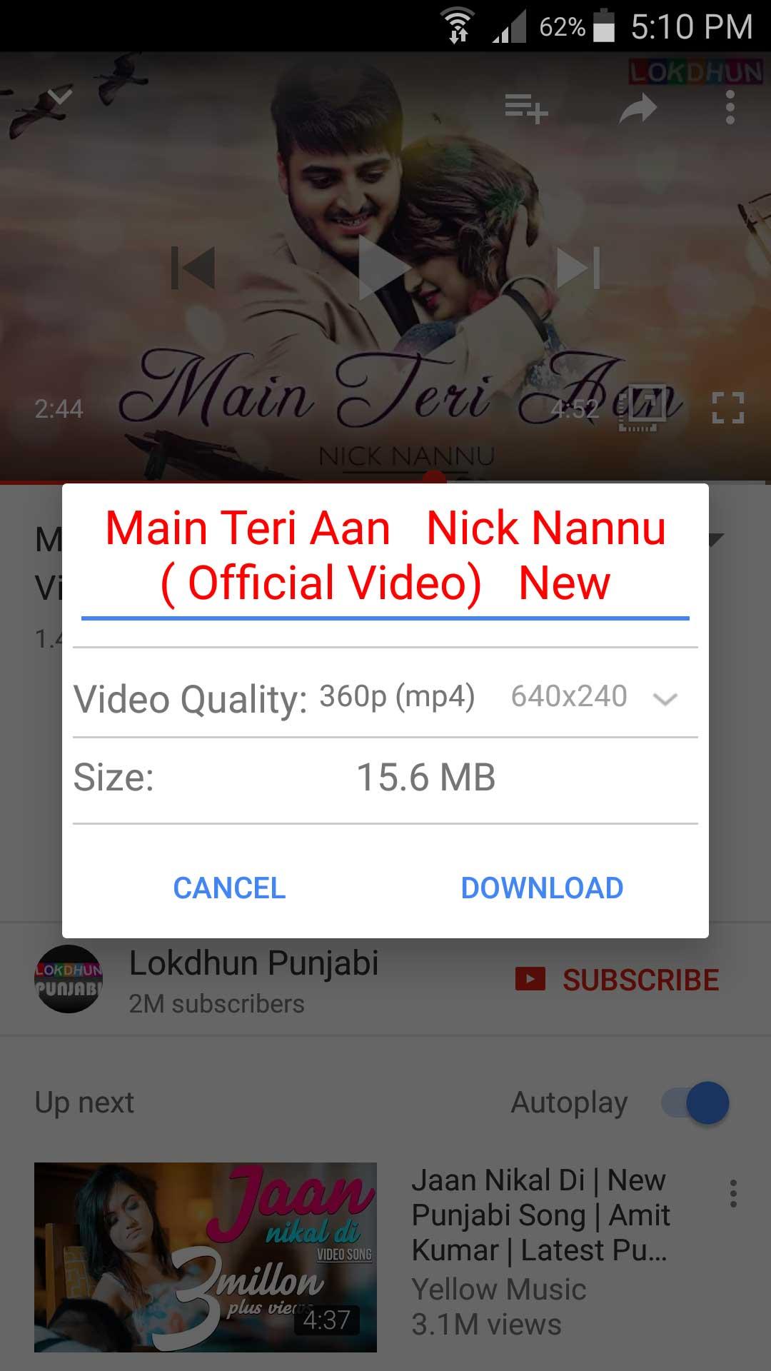 OGYouTube (OG YouTube) and McroG for OG download for Android