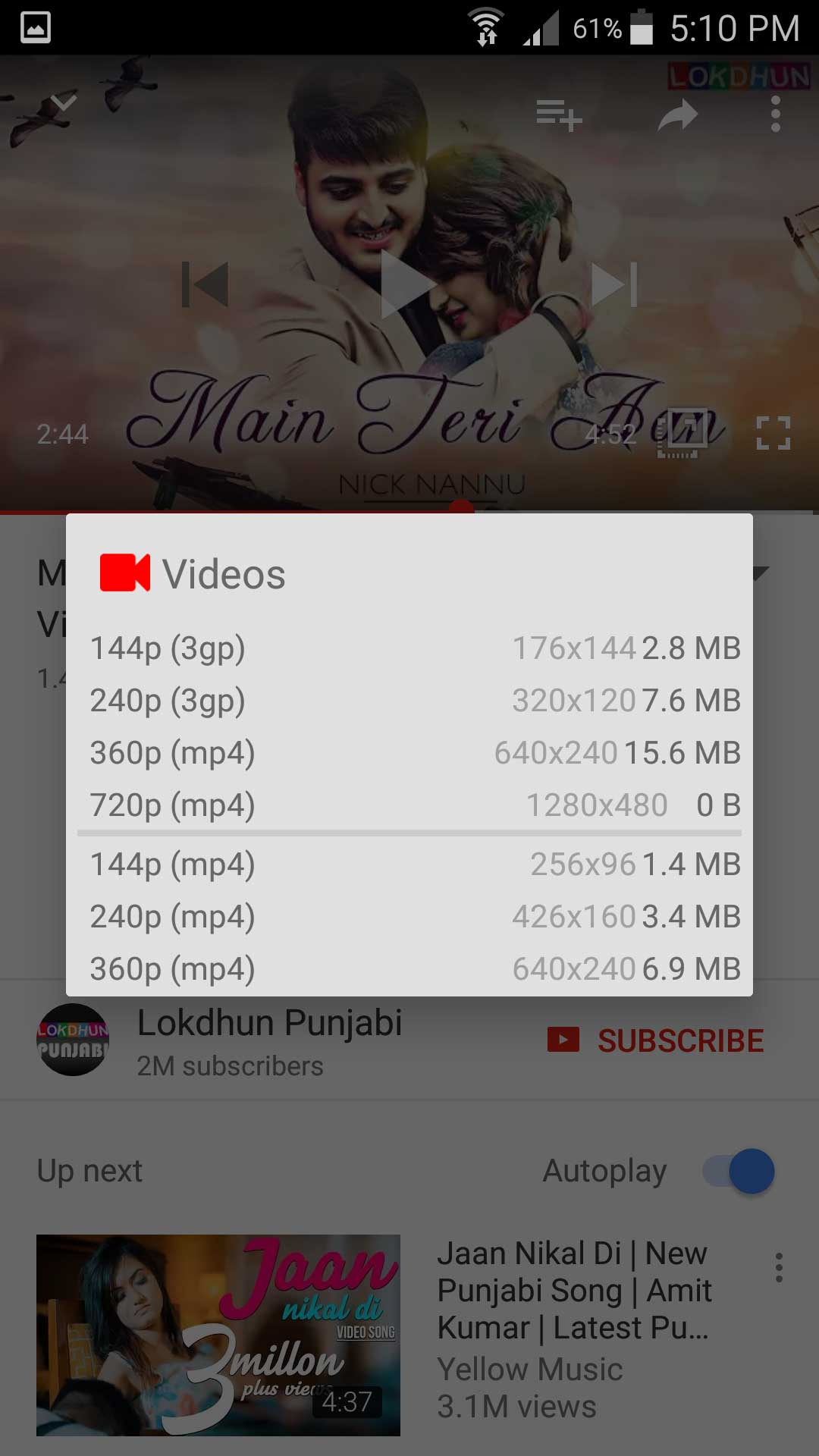 OGYouTube (OG YouTube) and McroG for OG download for Android
