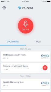 voicera screen 5