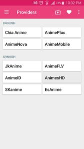 AnimeDroid Screenshot