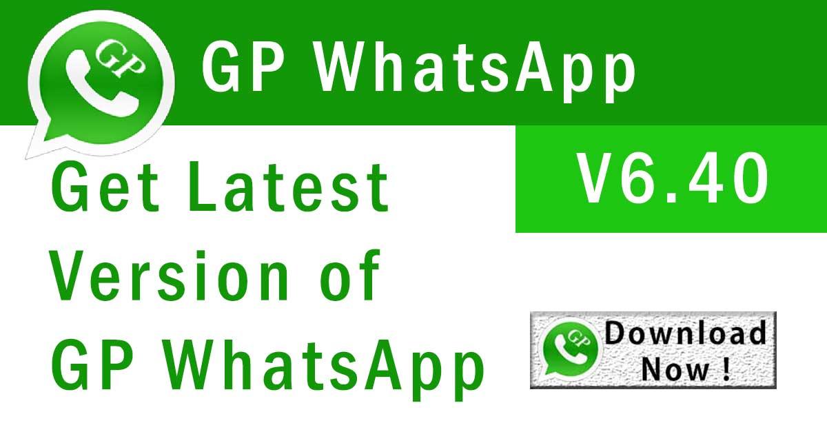 GP whatsapp 6.40