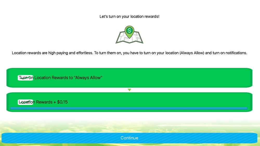 Zap Surveys Enable to location for more money